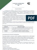guía LITERATURA CONTEMPORÁNEA .