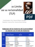 Trastorno Limite de La Personalidad (TLP)
