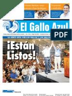 Primera Edicion Gallo Azul