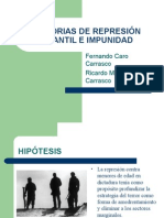 HISTORIAS DE REPRESIÓN INFANTIL E IMPUNIDAD  Tesis Fernando Caro