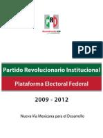 PlataformaElectoral2009_2012