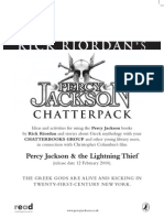 Percy Jackson reading questions for students | Hades | Greek Mythology