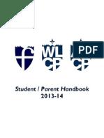 Student Parent Handbook 2013-14