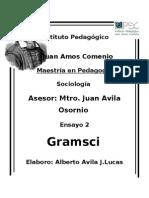 Ensayo de Gramsci.doc