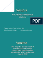 Vectors Tutorial