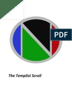 The Templist Scroll