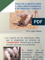 El Desperdicio de Alimento Para Cerdos