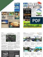 "Kuta Weekly-Edition 348 ""Bali's Premier Weekly Newspaper"""