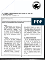 OTC-6314-MS-P the Concepts of Added Mass and Inertia Forces and Their Use in Sturcture Dynamics