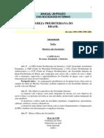 Manual Unificado Sociedades Internas 2001