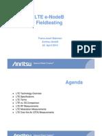 Anritsu LTE E-Node B Field Testing