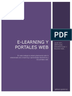 Trabajo de Word. E-Learning y Portales Web