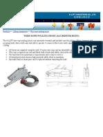 Wire Rope Pulling Hoist (Aluminium Body)