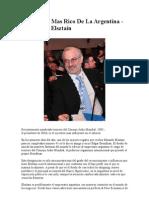 El Hombre Mas Rico de La Argentina- Elsztain