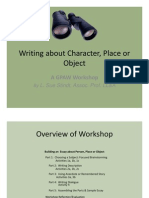 Writing About Character Place or Object [Compatibility Mode]