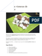 Galletitas Vienesas de Chocolate