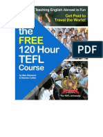 The Free 120 Hour TEFL Course
