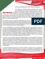 Comunicado WINAQ -PPII- Agosto09