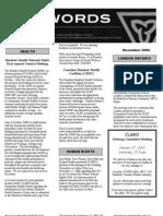 November 2006 CLGRO Newsletter