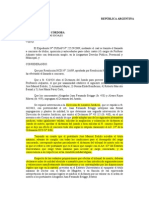 HCD de Derecho UNC 2011- Anulacion Parcial Del Dictamen