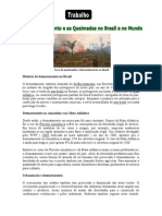 Apostila de Geografia - O Desmatamento No Brasil e No Mundo