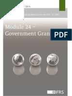 Module 24 Government Grants
