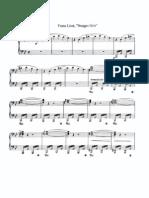 Nuages Gris. Franz Liszt