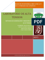 ALTA TENSION (Generacion y Medicion de La Alta Tension)