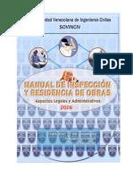 Manual Inspeccion y Residencias de Obras