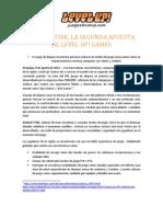 Comunicado de Prensa ASSAULT FIRE