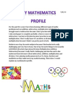 mathematics profile