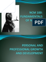 1 Personal and Professional Growth and Development HANDOUT