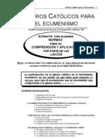 Criterios Para El Ecumenismo-Extracto