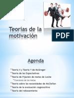 Teorias de La Motivacion