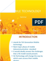 5g Mobile Technology Ppt////////////