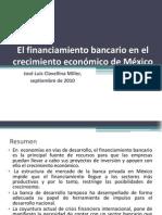 El financiamiento bancario en el crecimiento económico de