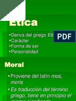ÉTICA, MORAL Y DERECHO
