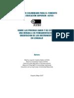 Fundamentos Conceptuales Lenguaje ICFES