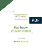 day trader - uk main market 20130809