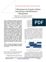 Power Control Mechanism for Cognitive Radios