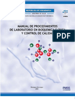 Manual de Laboratorio en Bioquimica Clinica y Control de Calidad