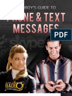 Badboy - Guide to Phone & Text Messages