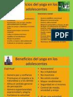 Beneficios Del Yoga en Los Adolescentes
