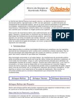 AHORRO DE ENERGÍA EN ALUMBRADO PÚBLICO-ELT ARGENTINA, SA
