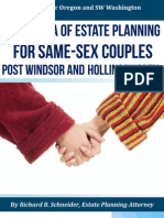 A New Era of Estate Planning for Same-sex Couples Post Windsor and Hollingsworth