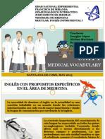Unidad i Vocabulario Medico Ingles I-3
