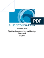 Pipeline Contruction and Design Standards 200907