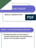 Entrepreneurship(Canara )