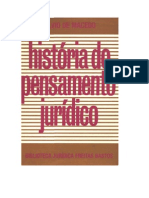 21225044 Silvio de Macedo Historia Do Pensamento Juridico 1982