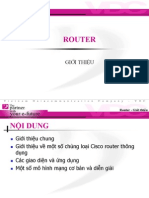 Training ROUTER